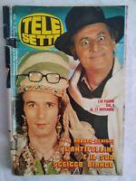 Telesette 1983 Arbore Benigni Proietti Miti Connery Moore Duran Russo Belmondo