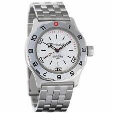 Vostok Amphibia 100822 Russian Automatic Divers Wrist Watch Mens 200m Auto White