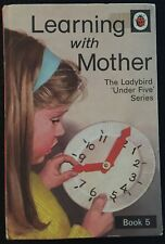 Learning With Mother Book 5 ~ Vintage Ladybird Under 5 ~ Series 702