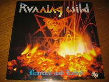Running Wild-Branded and exiled LP,Noise Germany 1985,OIS,sehr rar,Vinyl mint!!!