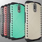 Motorola Moto G4 Moto G4 Plus Moto G 4thGen Case Armor Tough Hard Hybrid Cover