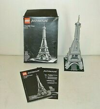 Lego Architecture: La Tour Eiffel - Complet Boite + Notice -  set 21019