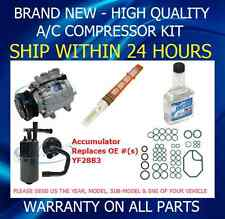 NEW AC FORD SCROLL COMPRESSOR KIT 2486 FIT Crown Victoria E-150 Expedition