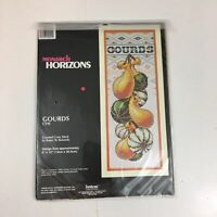 Monarch Horizons Gourds CS91 Counted Cross Stitch Janlynn