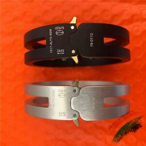 Alyx Rollercoaster High Quality 1017 9sm Unix Bracelet Track Bangle 2020 Men1:1