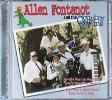 ALLEN FONTENOT & THE COUNTRY CAJUNS live USA - CD