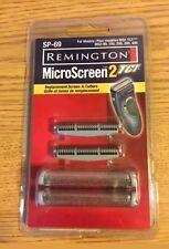 Remington Sp-69 Ms2 Foil Screen & Cutter Blade Head Silver