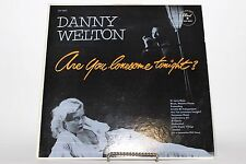 "Danny Welton ""Are You Lonesome Tonight?"" Dot DLP-3031 Sexy Cover Hamonica LP"