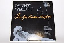 """Danny Welton """"Are You Lonesome Tonight?"""" Dot DLP-3031 Sexy Cover Hamonica LP"""