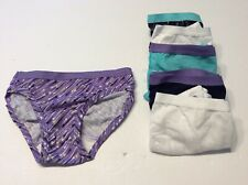 Fruit Of The Loom Little Girls Size 4 Underwear 6 Pairs Panties