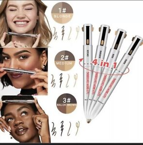 Brow Contour 4-In-1 Defining Highlighting Pencil Eyeliner Eyebrow Enhance Gifts