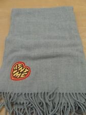 Large Grey Scarf/Shawl Anytime Heart Design BNWT Urban Outfitters Sold Out $32