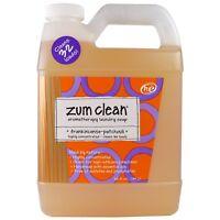 Indigo Wild  Zum Clean  Aromatherapy Laundry Soap  Frankincense   Patchouli  32