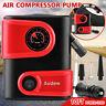 AUDEW 12V DC Car Tire Inflator Mini Auto Air Compressor Electric 150PSI Digital