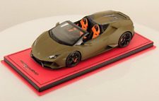 1/18 MR Collection Lamborghini Huracan Evo Spyder Matte Green limited 5 pcs