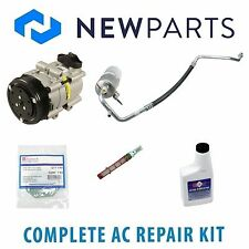 Ford F-150 1997-1998 4.2L Complete A/C Repair Kit w/ NEW Compressor & Clutch