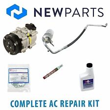 For Ford F-150 1997-1998 4.2L Complete A/C Repair Kit w/ NEW Compressor & Clutch