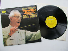 "Bruckner No 4 Romantic 12"" Lp BPO Eugen Jochum  DG Privilege 2535 111 UK 1967"