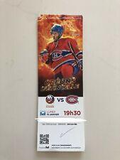 unused hockey tickets Montreal Canadiens 2017 season MITCHELL