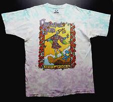 Grateful Dead Shirt T Shirt 1993 Vintage April Fools Tarot Cards New York GDM XL