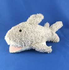 "Great White Shark Plush VERY NICE Stuffed Animal 8"" Fish 2005 Preferred Kids Toy"