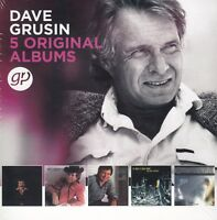 Dave Grusin / One of a Kind, Mountain Dance, Night-Lines, u. a. (5 CDs,NEU!OVP)