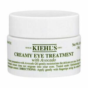 Kiehl's Creamy Eye Treatment with Avocado 14g Avocado Oil Dryness NEW #2522