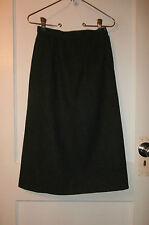 Super! Women's Dk Gray Pendleton Wool Skirt, Sz 4 Petite