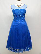 Cherlone Blue Prom Party Ball Evening Bridesmaid Wedding Formal Gown Dress 12