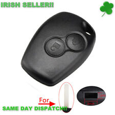 Renault Dacia Car Key Shell Remote Fob Case Without Blade 2 Buttons 3mm key