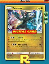 Zekrom (Dragon Majesty) - for Pokemon TCG Online (DIGITAL ptcgo in Game Card)