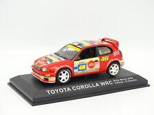 Ixo Presse 1/43 - Toyota Corolla WRC Rallye Monza 2004