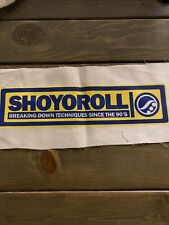 Shoyoroll Techniques Since the 90's gi patch Golden State colors