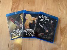Star Blazers-Space Battleship Yamato 2199 Part 1, 2 & 3 Limited Edition Blu-rays