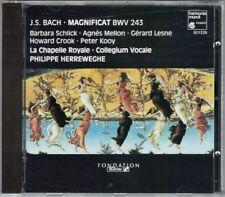 BACH Magnificat 243 Cantata Ein feste Burg ist unser Gott Philippe HERREWEGHE CD