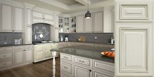 CUSTOM LAYOUT Cream Painted Cabinetry W Glaze Free Shipping