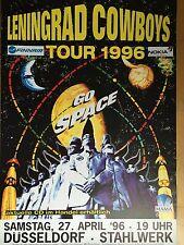 LENINGRAD COWBOYS 1996  DD  -  orig.Concert Poster -- Konzert Plakat  A1 - NEU
