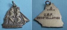 Maryland Md sterling charm Vintage U.S.F. Constellation gun ship
