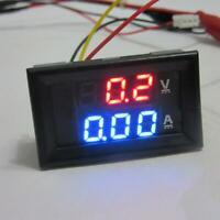 DC 0-300 V 10A Voltmeter Rot Amperemeter LED Panel Gauge Amp Volt Digital L7X8