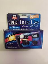 Flash Disposable One Time Use 35mm ISO 400 Camera 27 Exposures Expired 2016