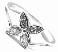 Authentic! Tiffany & Co Victoria Platinum Diamond Flower Ring