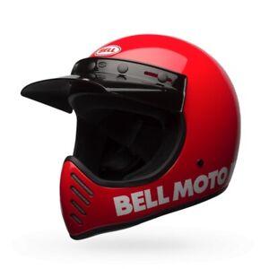 Bell Powersports Moto 3 Classic Helmet XS Red