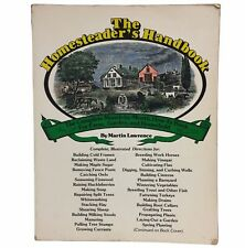 The Homesteader's Handbook by Lawrence Martin Farm Garden Household Guide