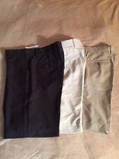 Greg Norman Signature Series Golf Shorts, 3 Colors, Sizes 32, 34 NWT Men's