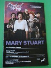May 3 - 2013 - Tom Patterson Theatre Program - Mary Stuart - Patricia Collins