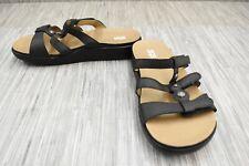 **SAS Napoli Slide Sandal, Women's Size 10W, Black