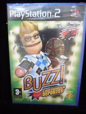 Buzz¡:El Gran Concurso de los Deportes para playstation 2 nuevo y precintado