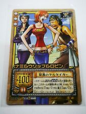 One Piece From TV animation bandai carddass carte card holo Made in Korea TD-T04