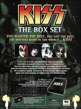 KISS The Box Set original 2001 advertisement 8 x 11 Best Buy ad print