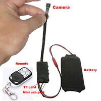 NEW HD DIY Module SPY Surveillance Hidden Camera Video MINI DV DVR Motion 1080p